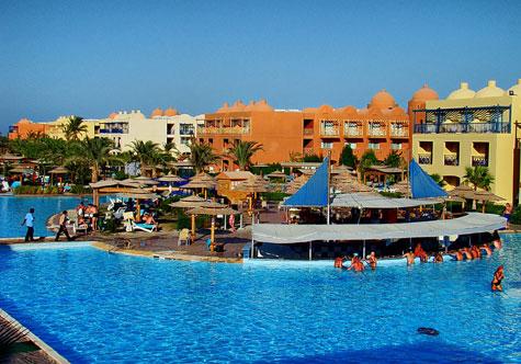 Titanic Beach And Aqua Park Hotel In Hurghada